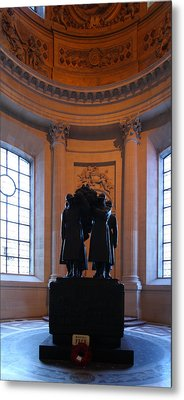 The Tombs At Les Invalides - Paris France - 01134 Metal Print by DC Photographer