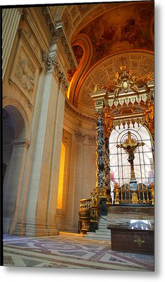 The Tombs At Les Invalides - Paris France - 01135 Metal Print