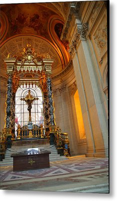 The Tombs At Les Invalides - Paris France - 01136 Metal Print
