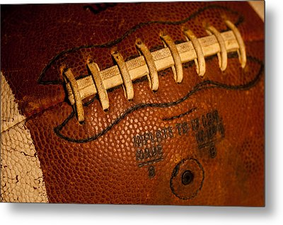The Tool Of The Gridiron Metal Print by David Patterson