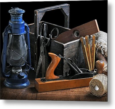 Metal Print featuring the photograph The Toolbox by Krasimir Tolev