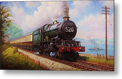 The Torbay Express. Metal Print by Mike  Jeffries