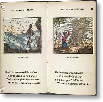 The Tornado Metal Print by British Library