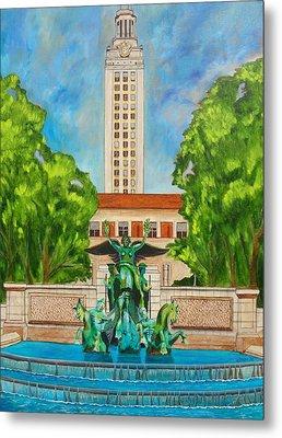 The Tower - Austin Texas Metal Print