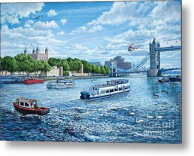 The Tower Of London Metal Print by Steve Crisp