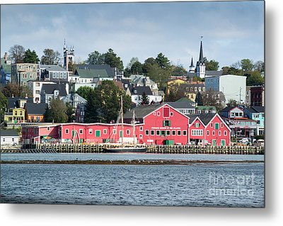 The Town Of Lunenburg Metal Print