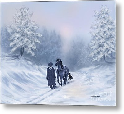 The Trail Home Metal Print