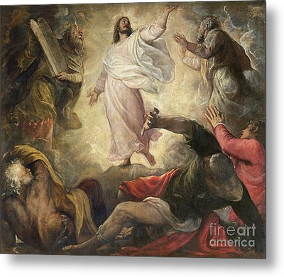 The Transfiguration Of Christ Metal Print