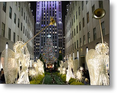 The Tree At Rockefeller Center Metal Print
