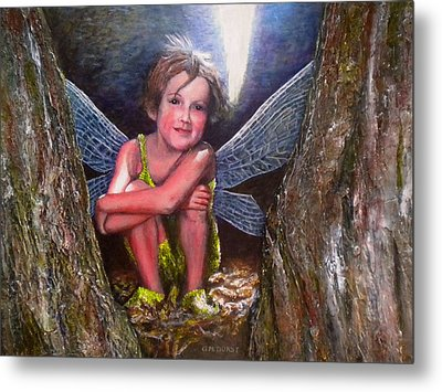 The Tree Fairy Metal Print by Michael Durst