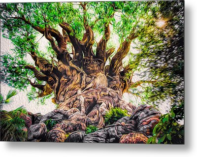 Metal Print featuring the photograph The Tree by Joshua Minso