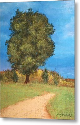 The Tree Metal Print by Marna Edwards Flavell