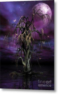 The Tree Of Sawols Metal Print by John Edwards