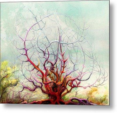The Tree That Want Metal Print by Bjorn Eek