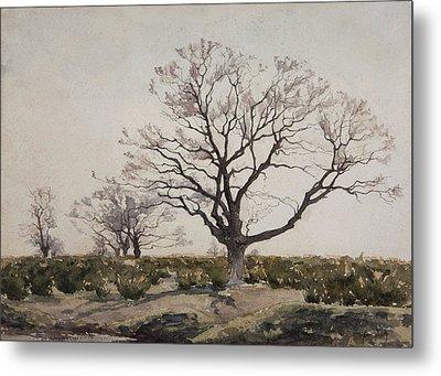 The Tree  Metal Print by Henri Duhem
