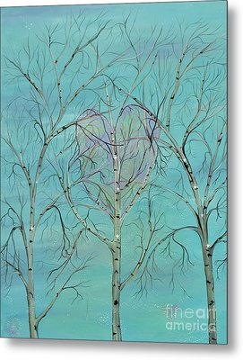 The Trees Speak To Me In Whispers Metal Print