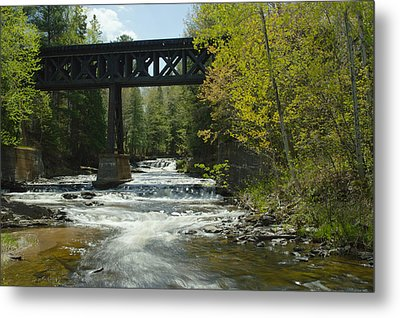 The Trestle Metal Print by Jill Laudenslager