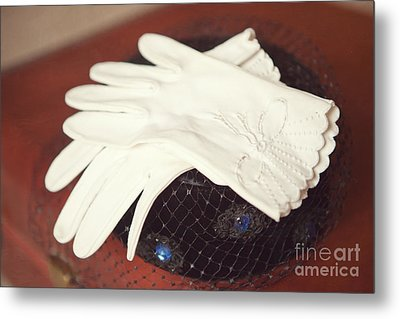 The Trip-the Gloves Metal Print by Kay Pickens