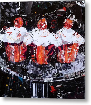 The Triplets Metal Print by Suzy Pal Powell