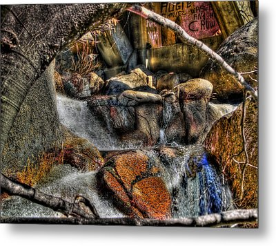 The Trolls Home Metal Print by Bill Gallagher
