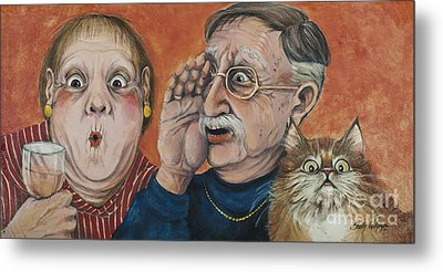 The Truth About Edna Metal Print by Shelly Wilkerson