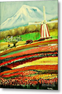 The Tulip Farm Metal Print
