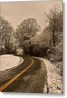 The Twisted Road Metal Print