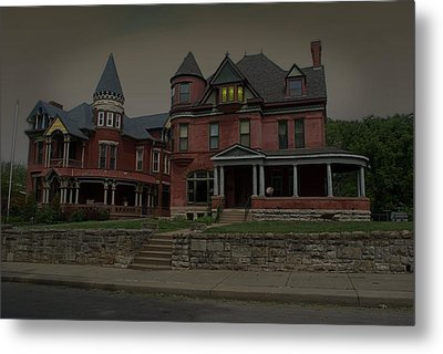 The Two Sisters Haunted House Metal Print by Tim McCullough