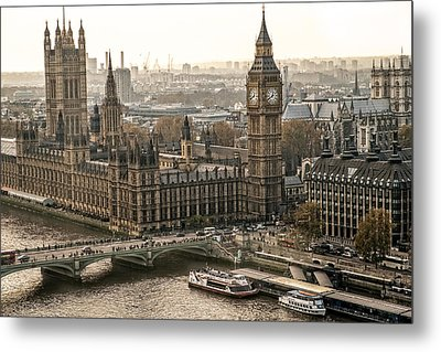 The Two Towers Metal Print by Glenn DiPaola