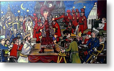 The Tyranny Of Tradition At Twelve Forty Five Metal Print by Richard  Hubal