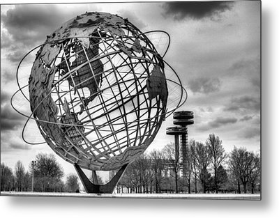 The Unisphere Metal Print by JC Findley
