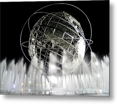 The Unisphere's 50th Anniversary Metal Print