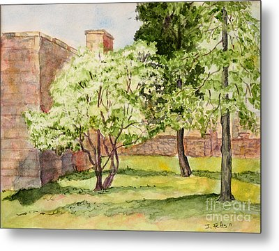 The University Of The South Campus Metal Print by Janet Felts