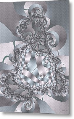 Metal Print featuring the digital art The Unraveling by Owlspook