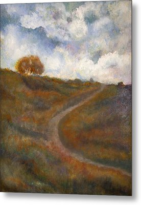 The Uphill Road Metal Print