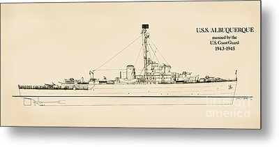 The U.s.s. Albuquerque Metal Print by Jerry McElroy - Public Domain Image