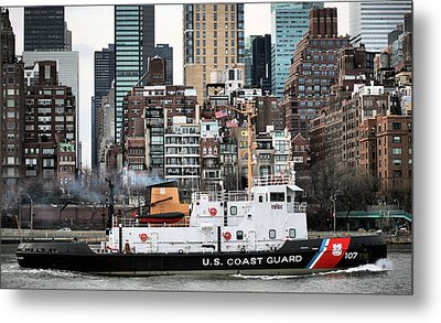 The Uss Penobscot Bay Metal Print by JC Findley