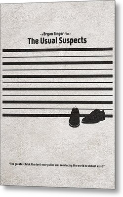 The Usual Suspects Metal Print by Ayse Deniz