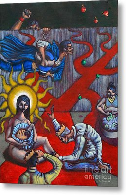The Veneration Of Counterfeit Gods Metal Print by Paul Hilario
