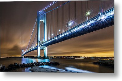 Metal Print featuring the photograph The Verrazano by Anthony Fields