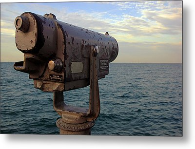 The View From Anna Maria Metal Print by Daniel Woodrum