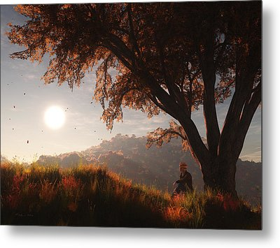 The View From Here Metal Print by Melissa Krauss