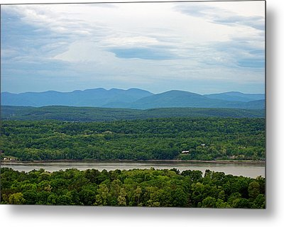 The View From The Tower Metal Print