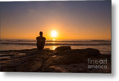 The View Wide Crop Metal Print by Michael Ver Sprill
