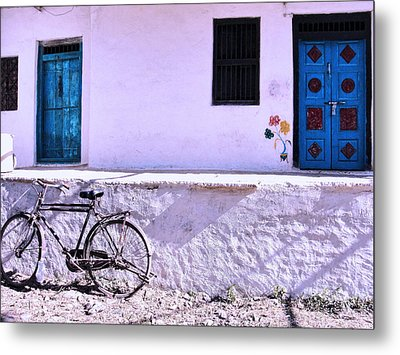 The Village House Metal Print by Makarand Purohit