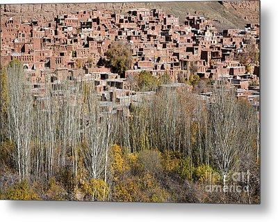 The Village Of Abyaneh In Iran Metal Print by Robert Preston