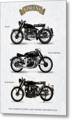 The Vincent Collection Metal Print by Mark Rogan