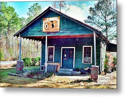 The Vintage Shop In Green Pond Metal Print by Patricia Greer