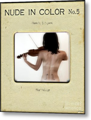 The Violinist  Metal Print by Steven Digman
