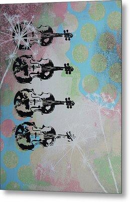 The Violins Metal Print by Bitten Kari
